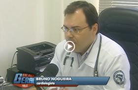 Dr. Bruno Nogueira em entrevista para Balanço Geral sobre Exercícios e Calor