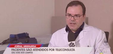 Dr. Bruno Nogueira fala sobre Teleconsulta em entrevista para a TV Vanguarda