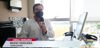 Dr. Bruno Nogueira fala sobre teleconsulta em matéria da TV Vanguarda
